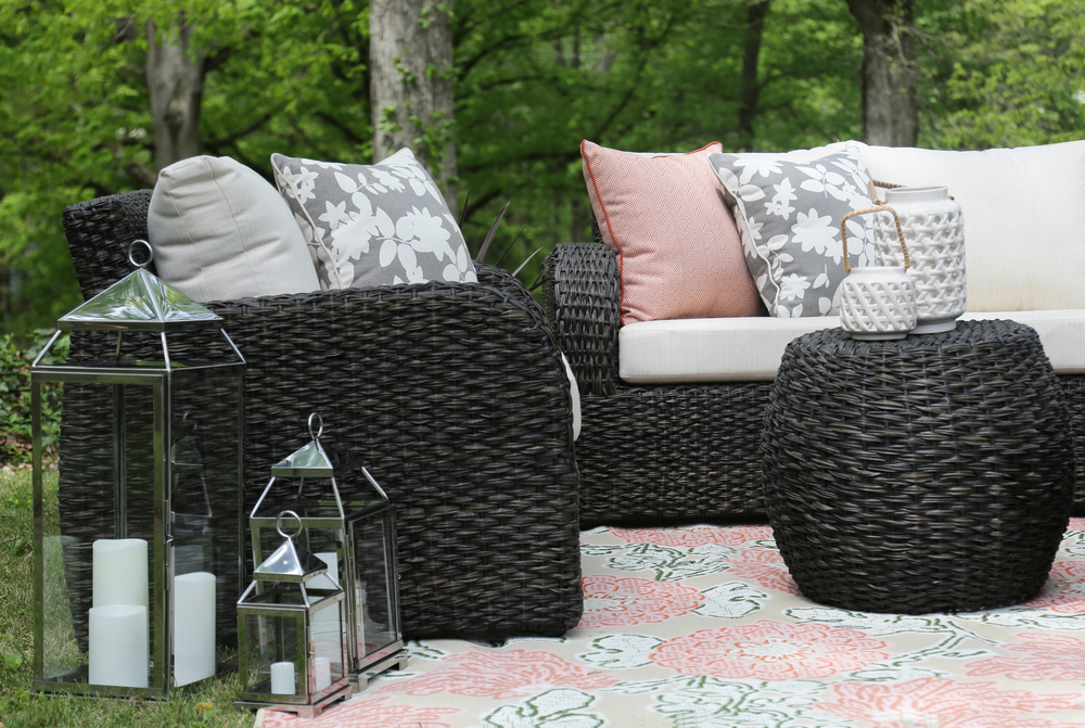 Sanford 6 Piece Outdoor Deep Seating Set | AE Outdoor | Not Your Grandmau0027s Patio  Furniture