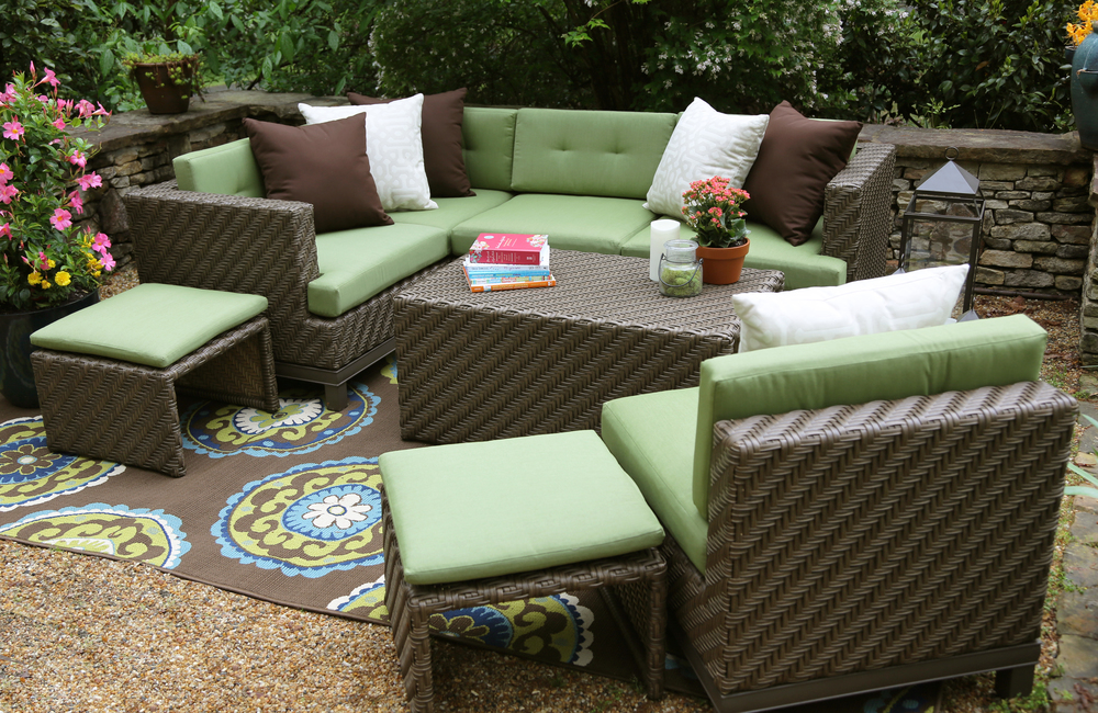 ... Copy Of Hampton 8 Piece Outdoor Sectional | AE Outdoor | Not Your  Grandmau0027s Patio Furniture
