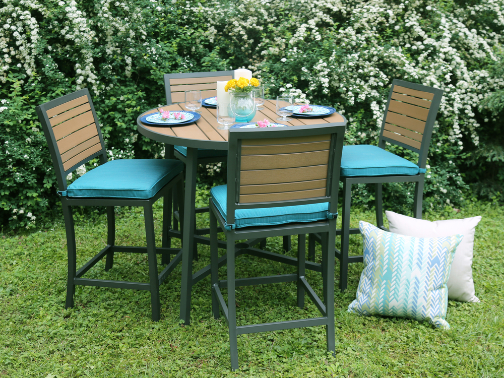 Attrayant AE Outdoor Woodbridge Dining Set Patio Furniture Outdoor