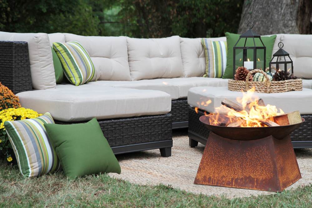 Hillborough 4pc Sectional 2 Colors Ae Outdoor