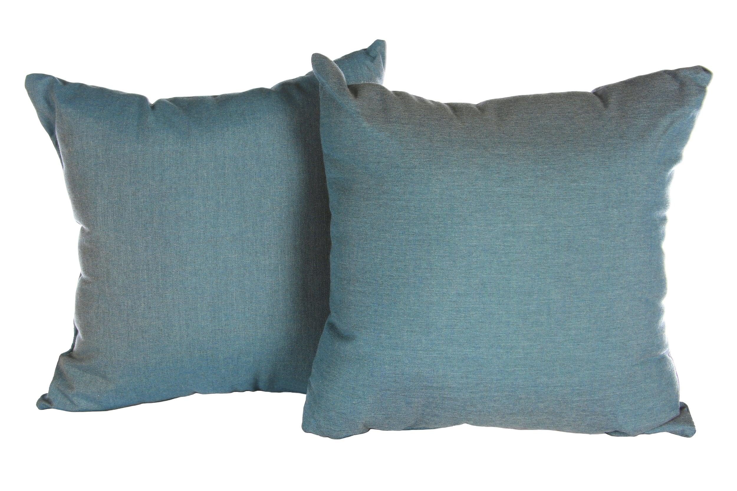 Cast Lagoon Sunbrella Toss Pillow Set Ae Outdoor
