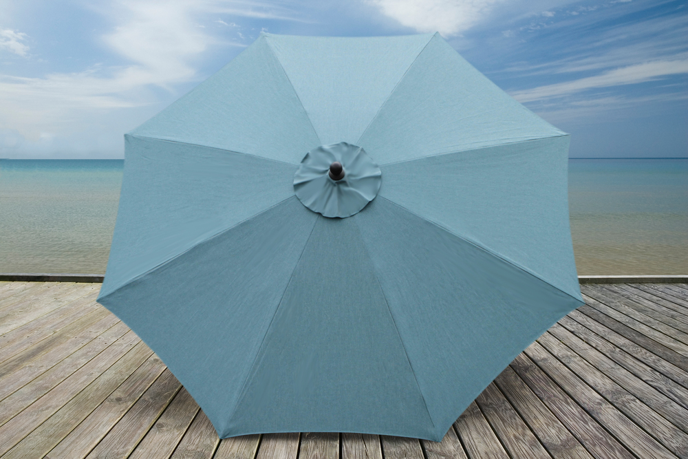 ... 10ft Market Umbrellas AE Outdoor Patio Sunbrella Lagoon 1 ...
