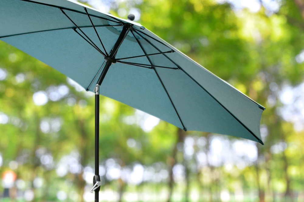 10ft Market Umbrellas AE Outdoor Patio Sunbrella Lagoon 2 ...