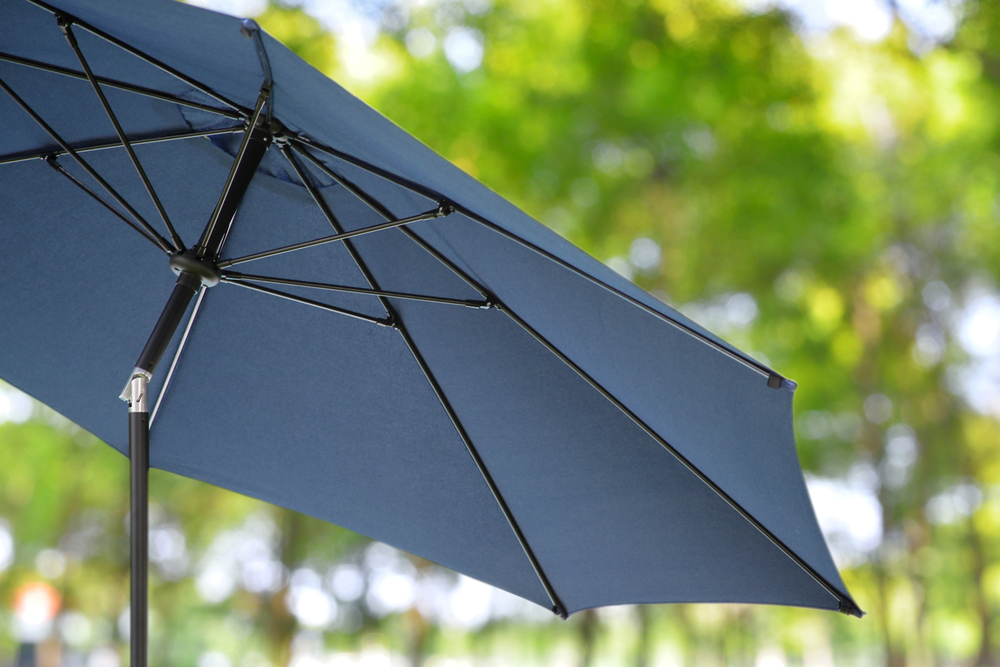 10ft Market Umbrellas AE Outdoor Patio Sunbrella Indigo 2 ...
