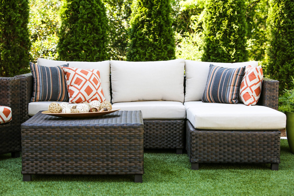 ... Biscayne Collection AE Outdoor Patio Furniture Sunbrella 8 ...