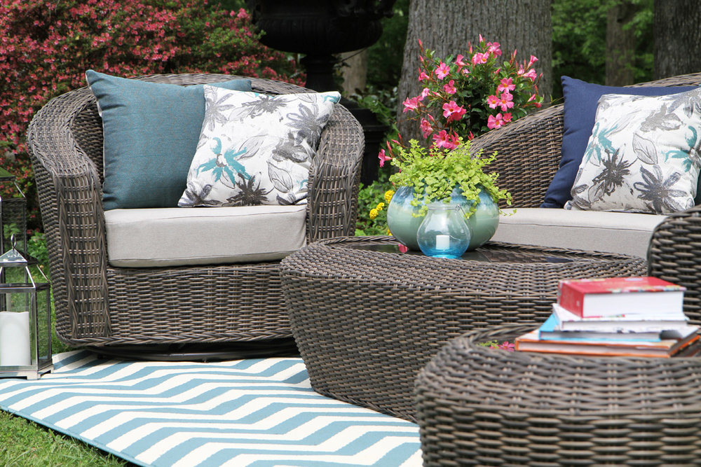 AE Outdoor Anderson Deep Seating Patio Furniture Outdoor