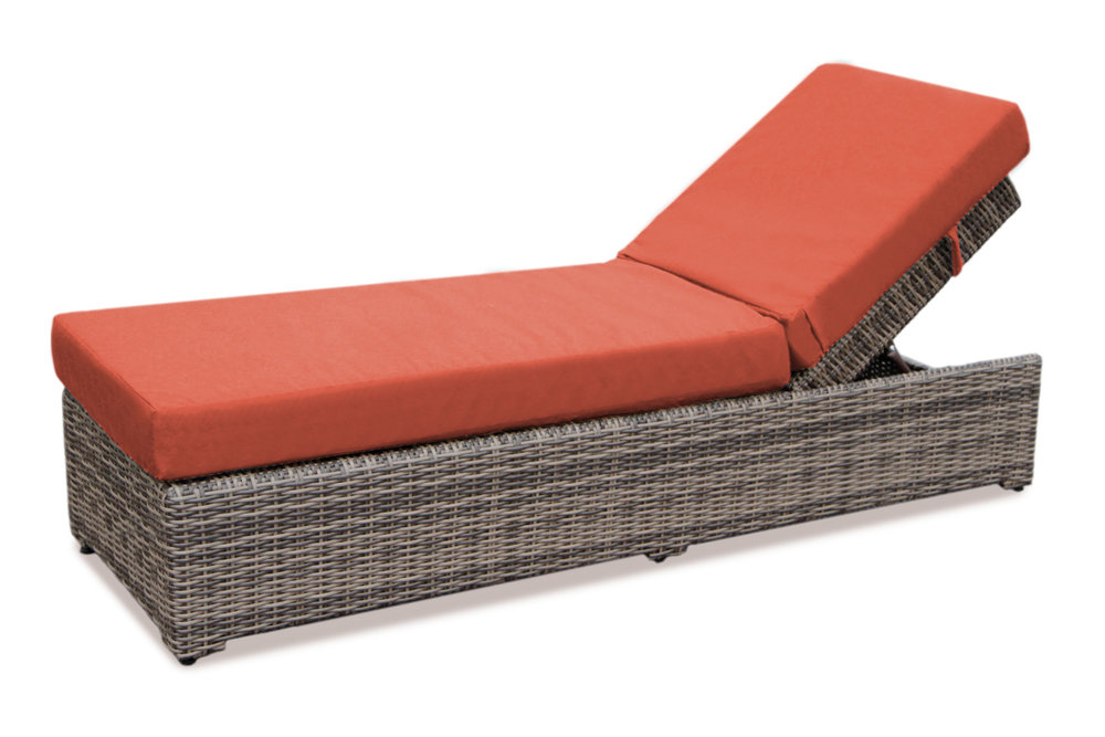 AE Outdoor-Cherry Hill Outdoor Patio Furniture-Modular-Chaise-Brick.jpg  sc 1 st  AE Outdoor : chaise lounge the brick - Sectionals, Sofas & Couches