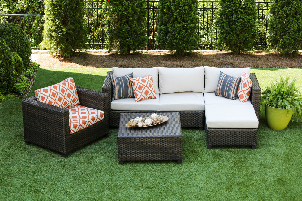 ... Biscayne Collection AE Outdoor Patio Furniture Sunbrella 11 ...