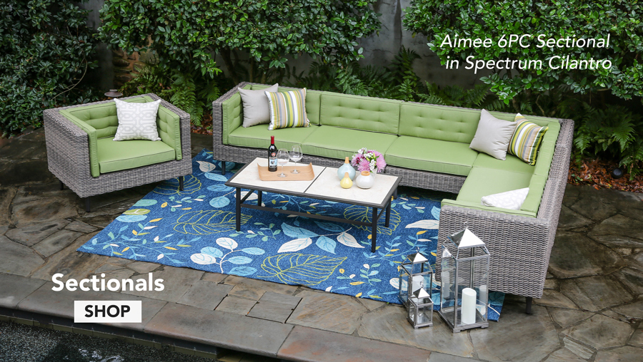 AE Outdoor   Sectional   Home