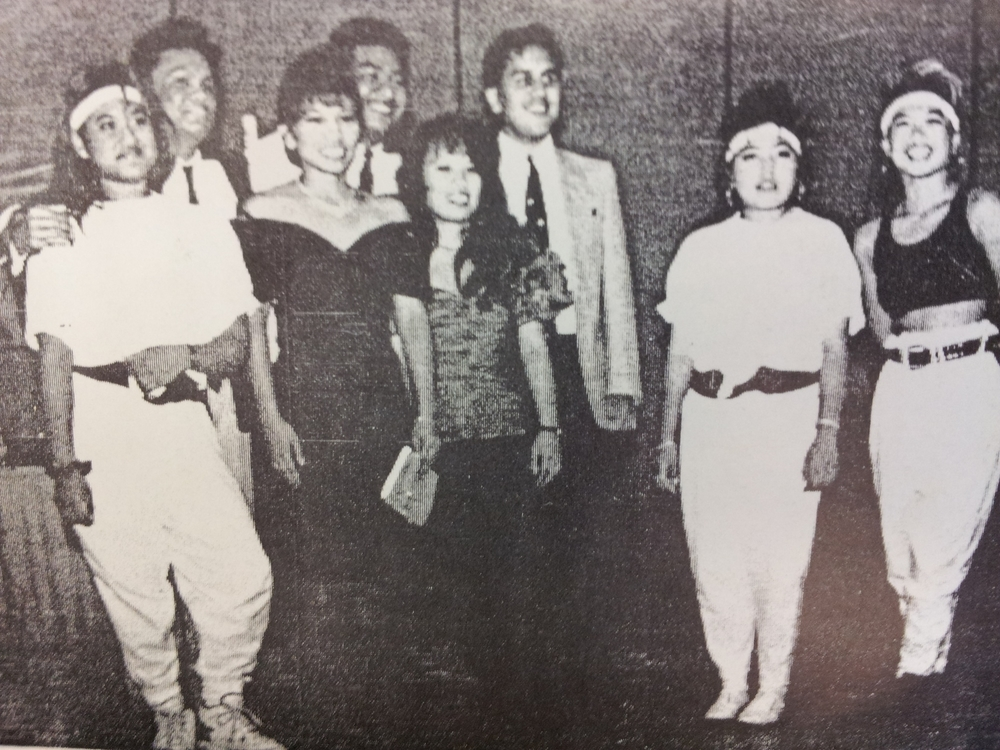 Fall 1990: President - Sharlyn San Miguel,  Internal Vice President - Michael Garcia, External Vice President - Ed Paloma, Secretary - Reena Torres, Treasurer - Aileen Reyes, Cultural Chair - Vilma Villaflor, Publicity Chair - Ross Bascos, Sports Coordinator - Jeanette Santiago, Chronicle Editor - Ananias Joseph Ayroso, Historians - Rey Anthony Chan & Erlila De La Paz
