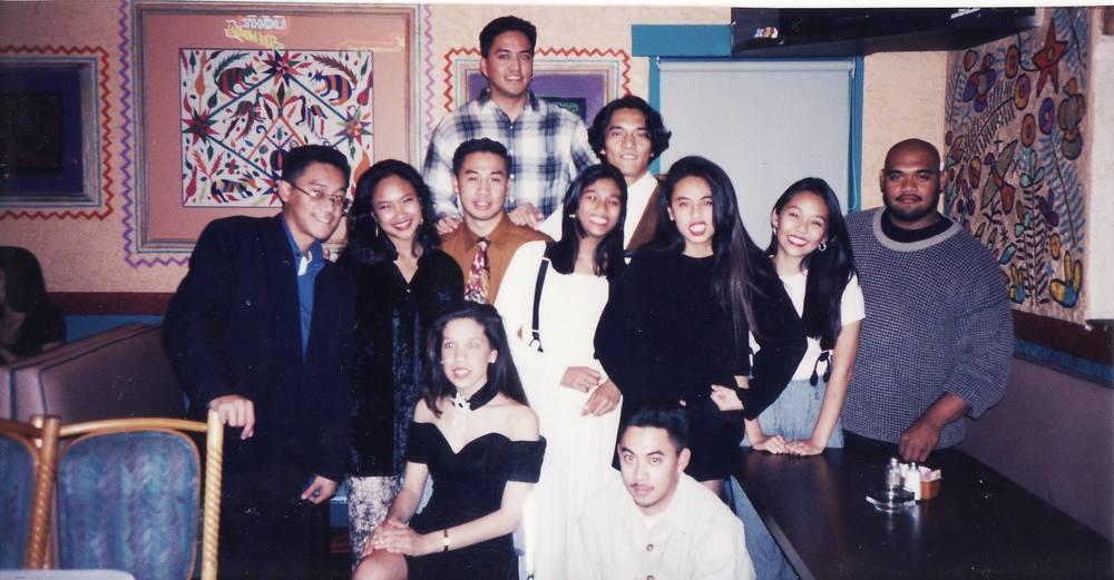 Fall 1994: President -   Alex Laspiñas,    Historian -Ronald Casino ,  Bon Mercado  ,  Reggie Dones  ,  Emmanuel E-man Coquia  ,  El Bandonillo, Rowena Ramos, Joan Cruz, David Macayaon, Haze Bunoan,  and  Eric Peralta  .