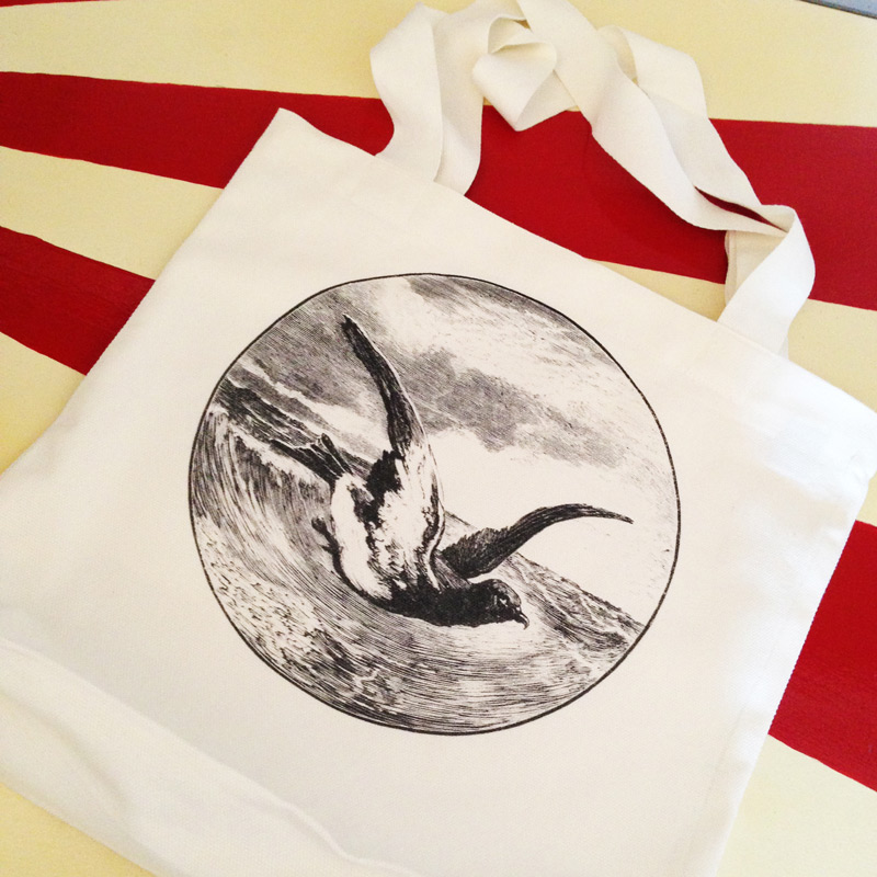 TOTE BAG Always in stock. It's tough, and it fits records. That's pretty much all you need to know about this cotton canvas bag. It probably fits other things too, like space rocks and cats, but we haven't checked.   COLOURS CREAM
