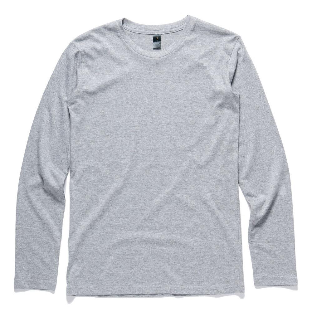 Unisex Longsleeve - Grey Marle