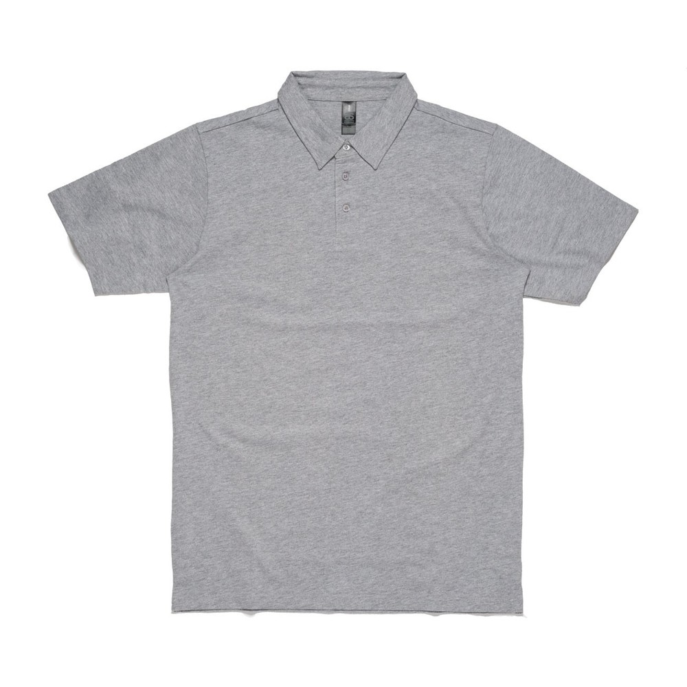 Unisex Polo - Grey Marle