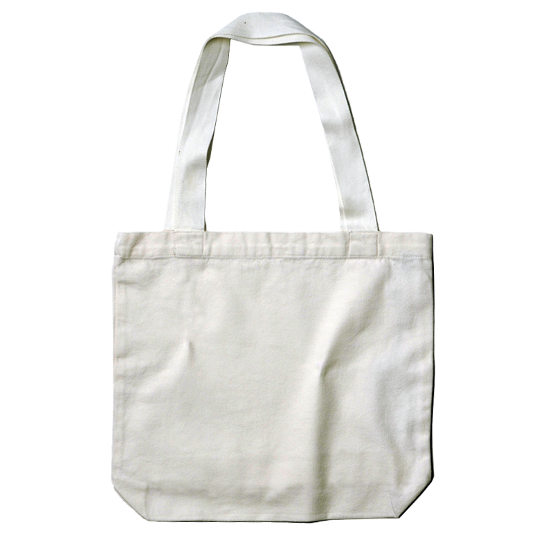 <b>Tote Bag</b><br>Natural & Black 42x40cm