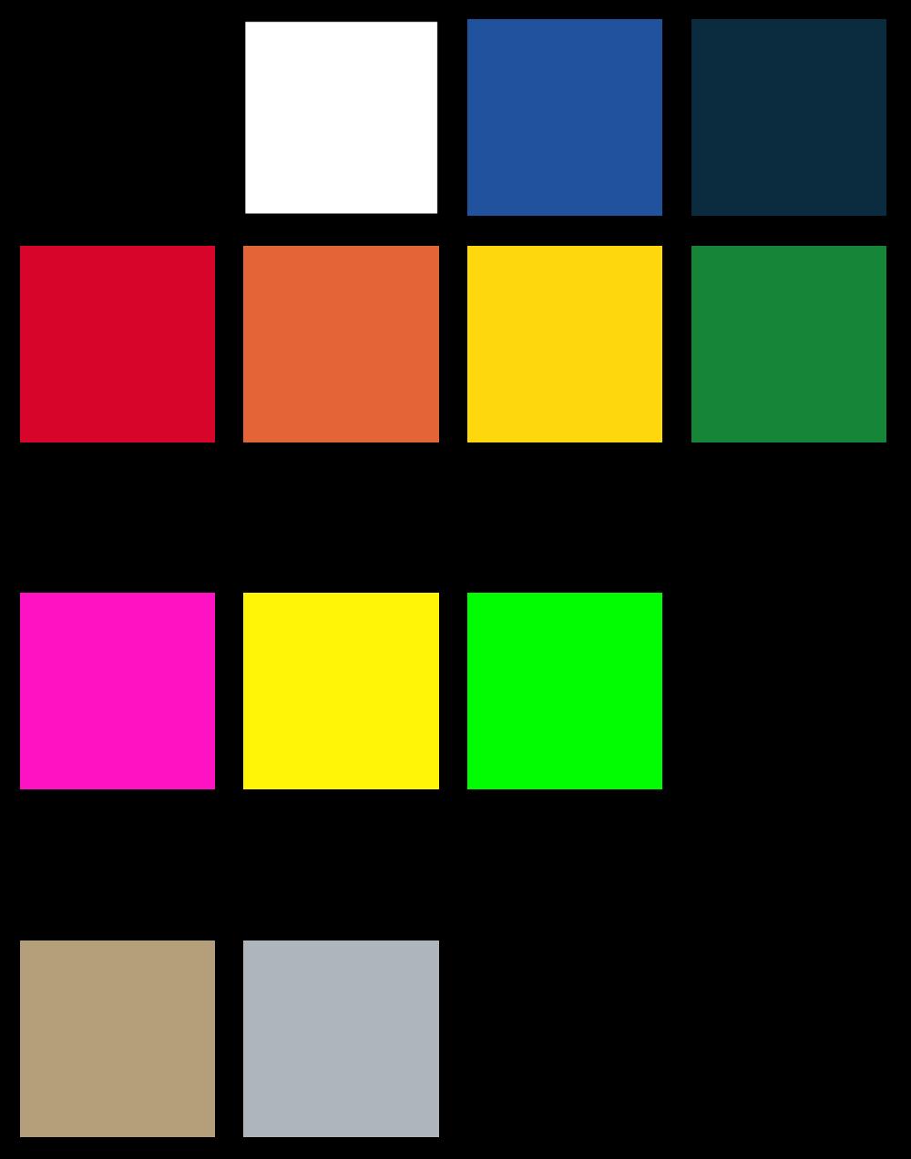 Vinyl Colours