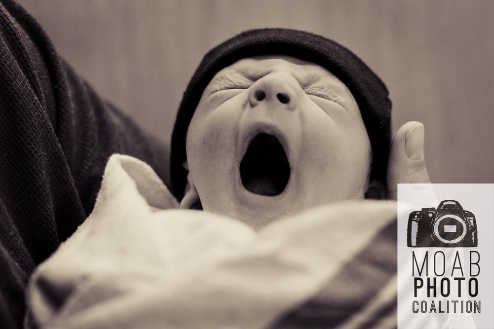 Baby Johnston born at  Moab Regional Hospital -Photographer: Jessiqua Zufelt