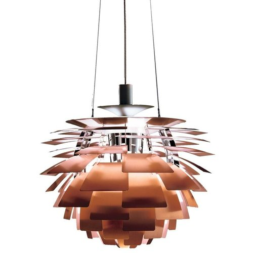 Monumental poul henningsen copper ph artichoke chandelier for louis monumental poul henningsen copper ph artichoke chandelier for louis poulsen aloadofball Image collections