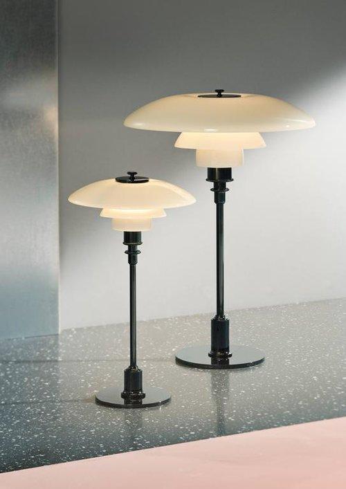 Poul henningsen glass ph 3 2 table lamp for louis poulsen two poul henningsen glass ph 3 2 table lamp for louis poulsen aloadofball Choice Image