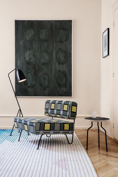 Super Greta Magnusson Grossman 'Grasshopper' Floor Lamp in Black — Two TZ-06