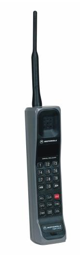 The first digital hand-size mobile telephone - Motorola International 3200