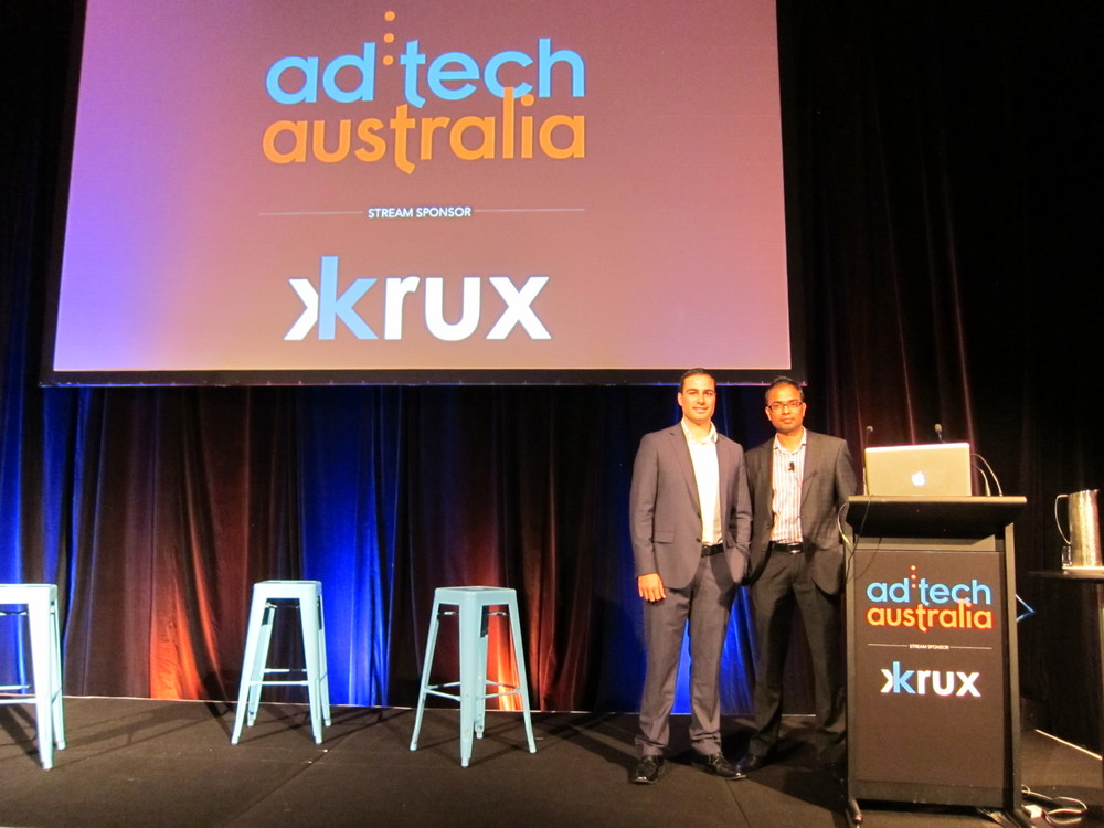 Michael Verghios Nimbull and Kopi Nadarajah HealthcareLink at ad:tech