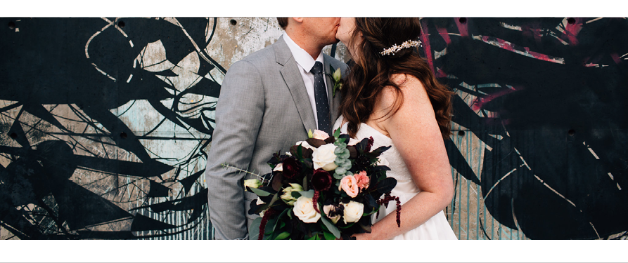 Classic, Modern City Wedding at Space Gallery, Denver, Colorado