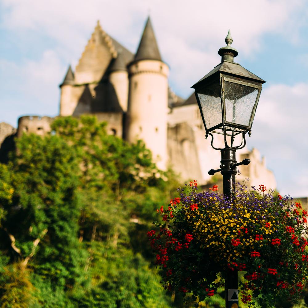 The castle in Vianden