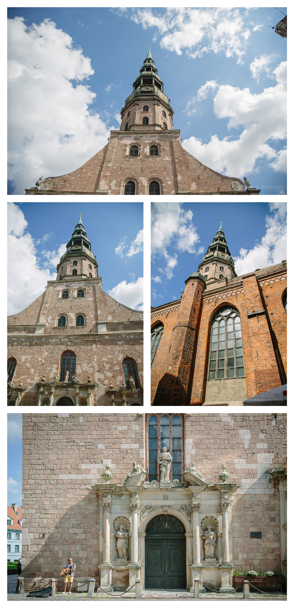Eerste melding van die St Peter's Church is in Riga rekords van 1209.
