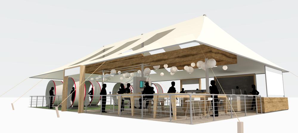 Safeway Tent. Sam Bowman Design.2013.