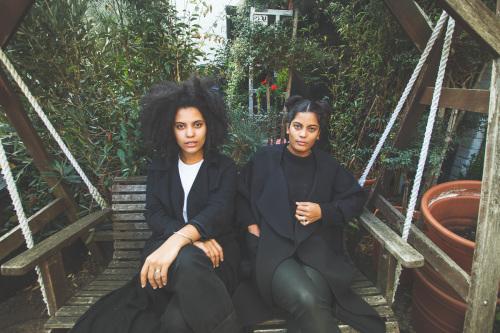 French-Cuban twin sisters Lisa-Kaindé and Naomi Diaz (Photos via The Guardian)