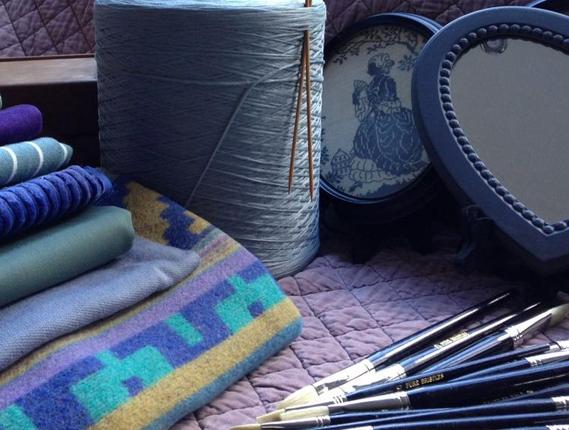 Materialen voor het activiteitencentrum