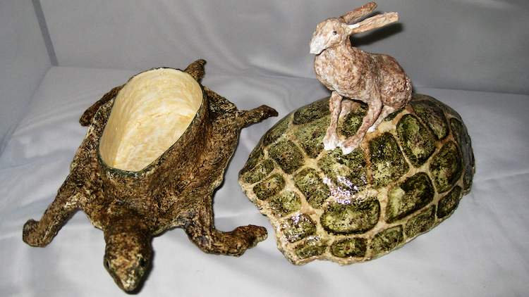Tortoise-Riding Hare Box