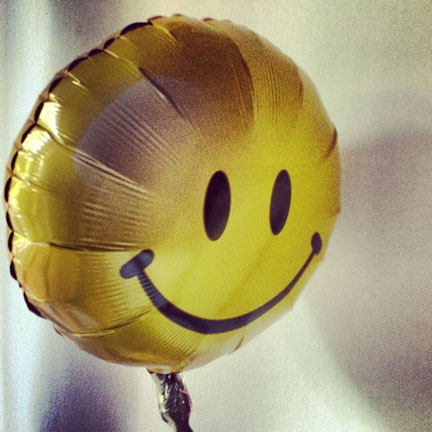 Happy get well balloon from Ashley. x - Singapore