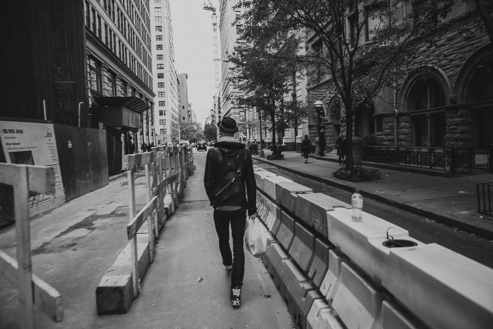 street walking starts