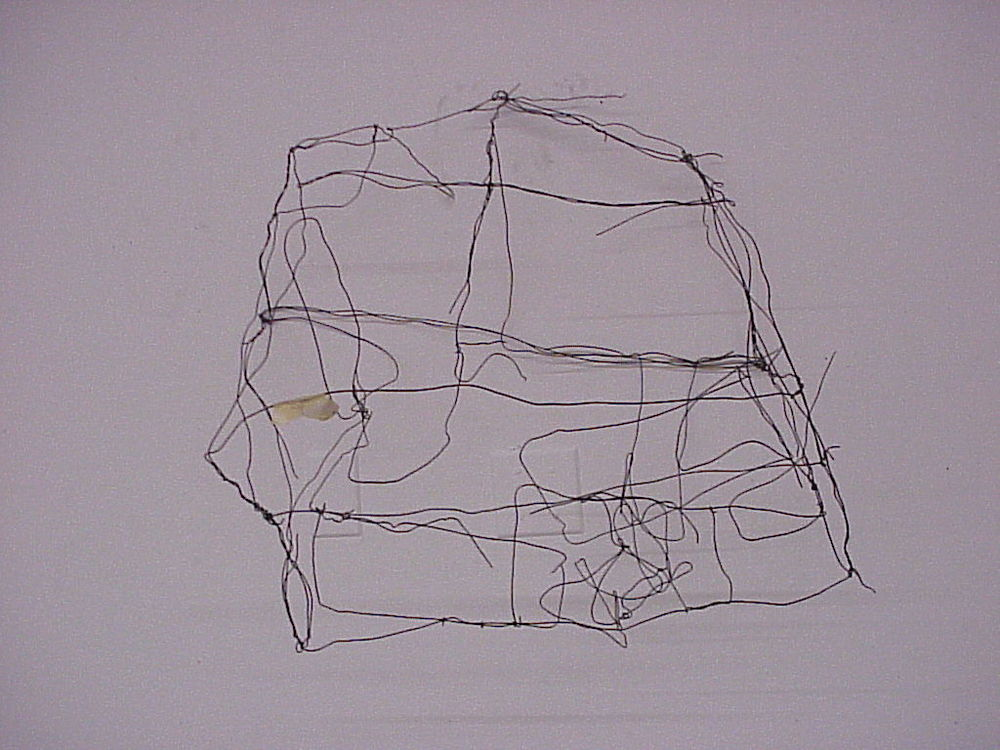 "Jon Ross: ""wire house final on wall A"". Image via flickr, creative commons (CC BY-ND 2.0)."