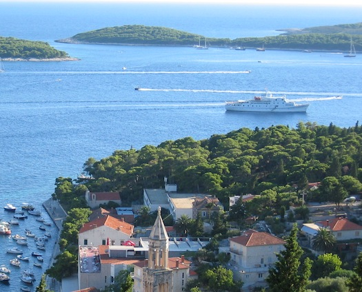 MV Monet , Hvar, Croatia