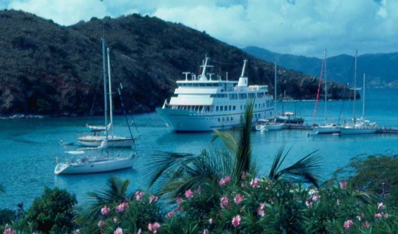 """The Yachtsman's Caribbean"" proved much more effective than ""The Ultra-Yacht"" in attracting customers looking for a small ship adventure in the Virgin Islands. Photo by Steve Wellmeier"