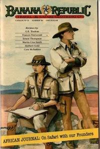 Banana Republic Catalog #19 Summer 1984