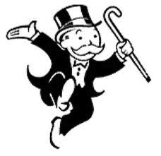 Mr. Monopoly courtesy of Hasbro, Inc.