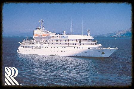 Original Renaissance Cruises generic postcard.