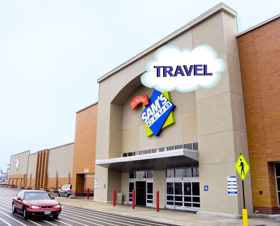 Sam's Club Travel, an online information and booking site for members only, was recently introduced by the company. Photoshop by  Mark Babushkin Photography .