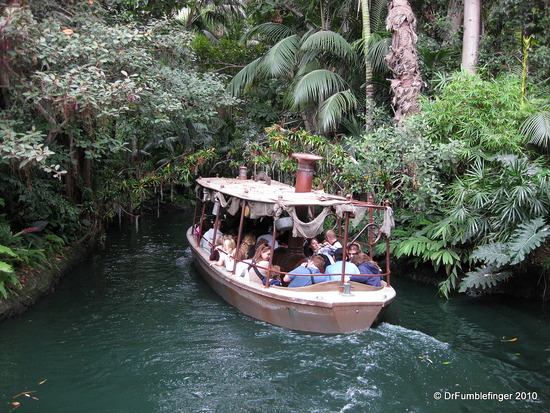 Photo of Disneyworld Jungle River Cruise courtesy Dr. Fumblefinger