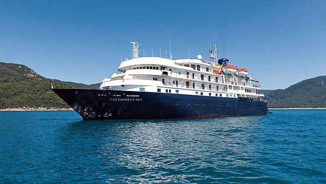 Noble Caledonia has operated the former  Renaissance VI, Sun Viva II, MegaStar Capricorn, Hebridean Spirit  and  Sunrise  since 2012 as the  Caledonia Sky .