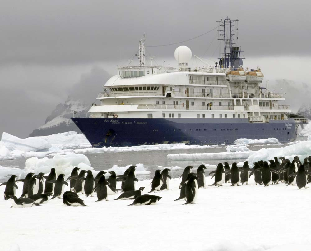 The Sea Spirit, built in 1991 as the Renaissance V, is on of six original Renaissance vessels still active in the expedition cruise market.