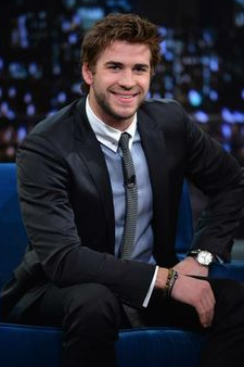 Liam Hemsworth is a big fan of the man beads!