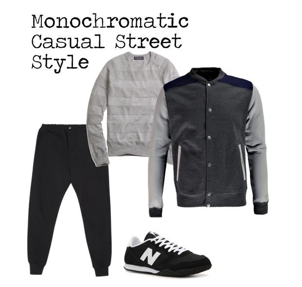 Ensemble Style Casual Street Style