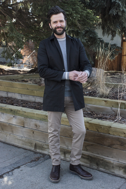 Ensemble style menswear Calgary Lauren Larsen stylist