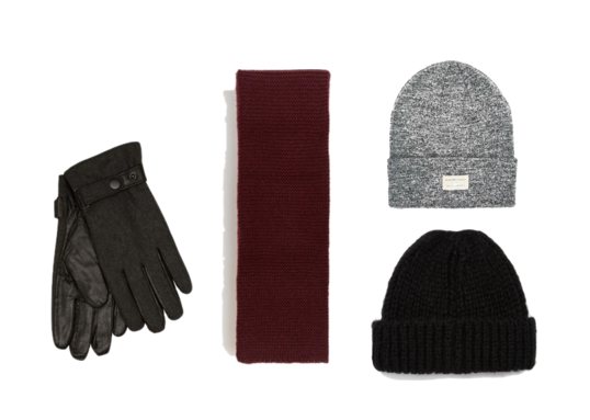 how to wear winter accessories menswear ensemble calgary