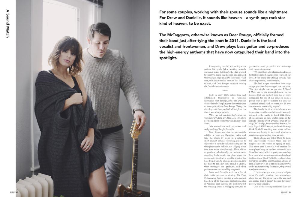 Lauren Larsen stylist calgary fashion stylist image consultant personal shopper Dear Rouge Junos